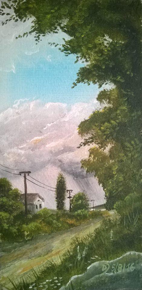 Online Malkurs Landschaftsmalerei für Acrylfarben. Jetzt kostenlos ausprobieren!