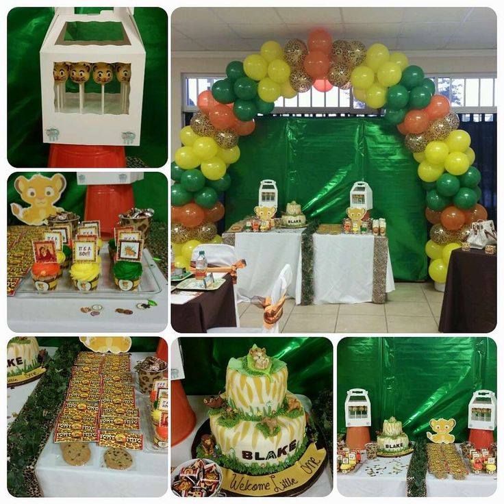 Lion Baby Shower Ideas: Lion King Baby Shower Party Ideas