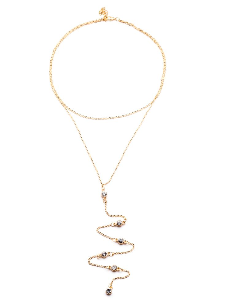 Shop Gold Plated Y Shaped Rhinestone Pendant Choker Necklace online. SheIn offers Gold Plated Y Shaped Rhinestone Pendant Choker Necklace & more to fit your fashionable needs.