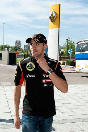 Pastor Maldonado, en la sede central de Renault España en Madrid | QuintaMarcha.com