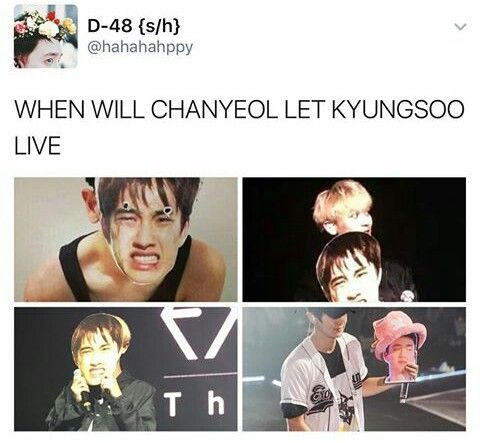 When will ExoLs let Kyungsoo live