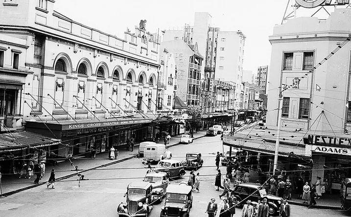Kings Cross, Sydney, Australia in 1947.