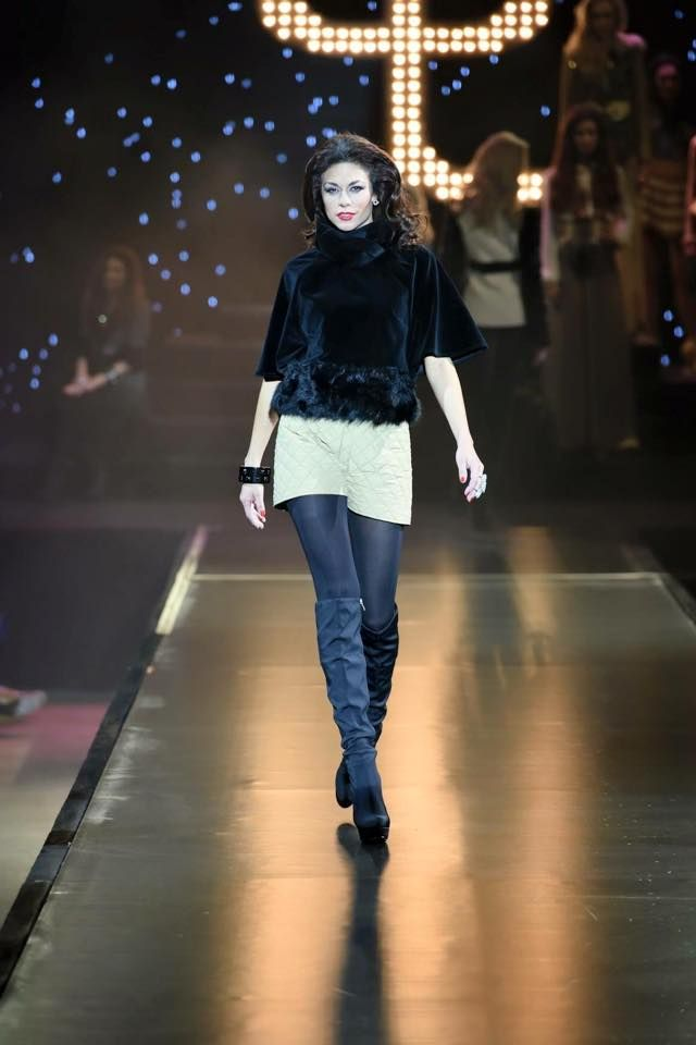 #osmanylaffita #fashionshow #lucieuxova #model