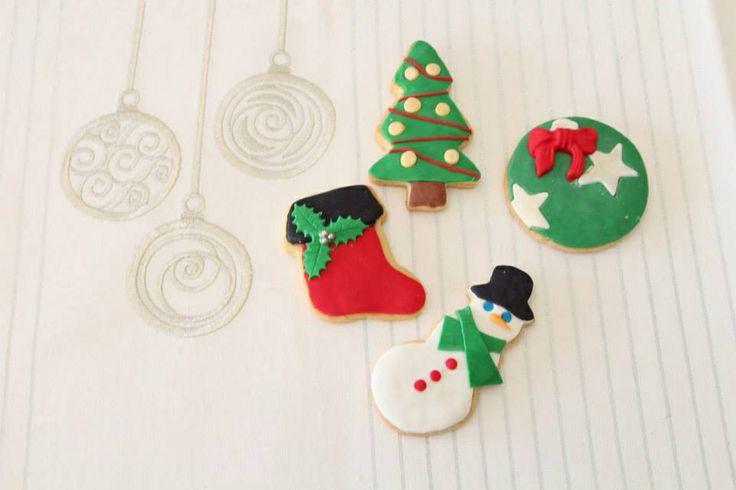 @Brown Sugar Custom Cakes Christmas cookies