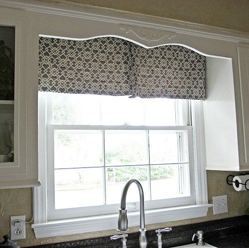 Diy Modern Kitchen Curtains
