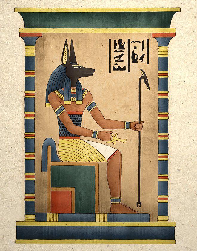 Боги египта в картинках, днем