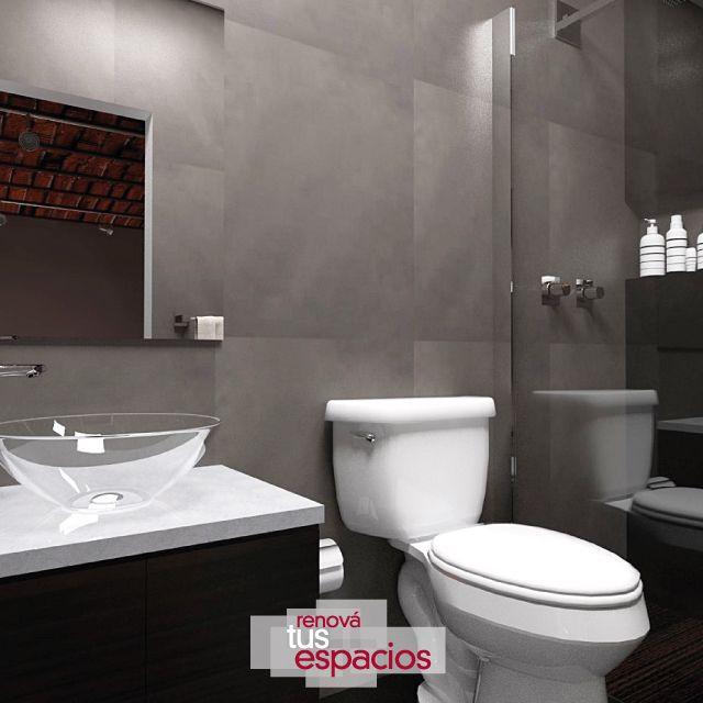 El toque perfecto de innovación para tu baño #RenováTusEspacios #Proyectos #Reconstrucción #NuevasTendencias #Estética