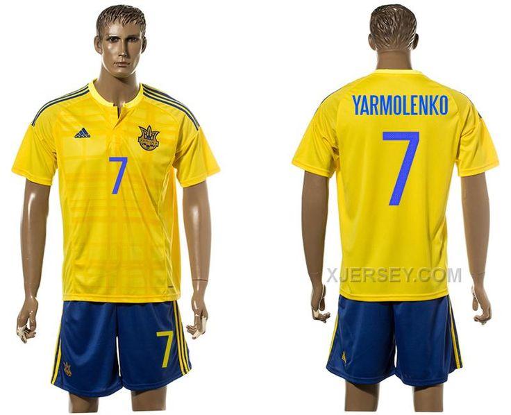 http://www.xjersey.com/ukraine-7-yarmolenko-home-euro-2016-jersey.html UKRAINE 7 YARMOLENKO HOME EURO 2016 JERSEY Only 33.11€ , Free Shipping!