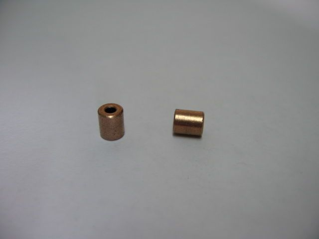 3*6*7.5mm Copper base powder metallurgical parts Powder Metallurgy oil bushing  porous bearing Sintered copper sleeve #Affiliate