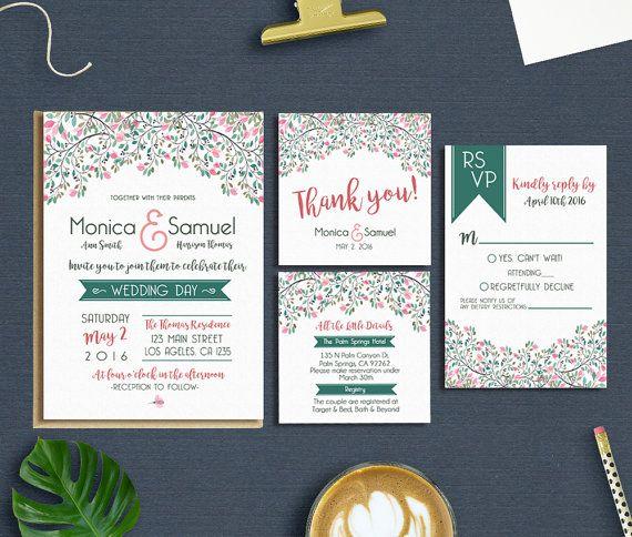 27 best Wedding Invitations images on Pinterest