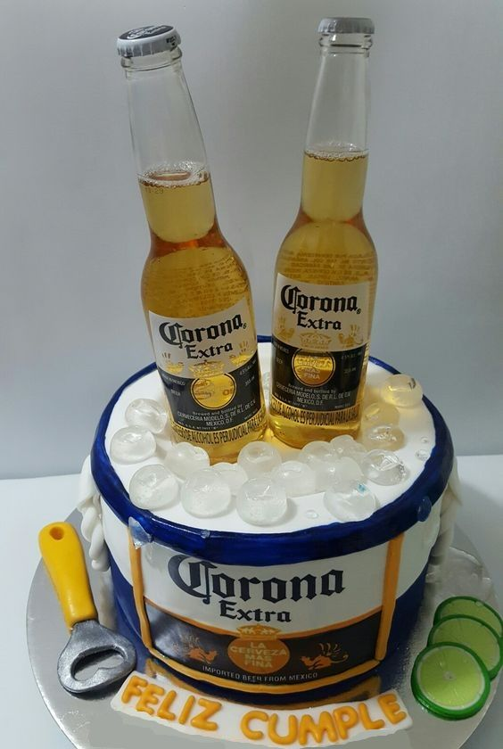 70 Best Pastel De Cervezas Images On Pinterest Corona