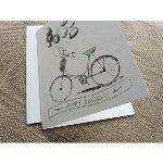 Happy Birthday Vintage Bicycle