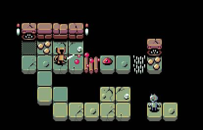ha, just came across the original mock-up that kicked off the dungeon crawler @scutanddestroy & me wanna do #pixelart