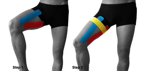 elastic sports tape instructions