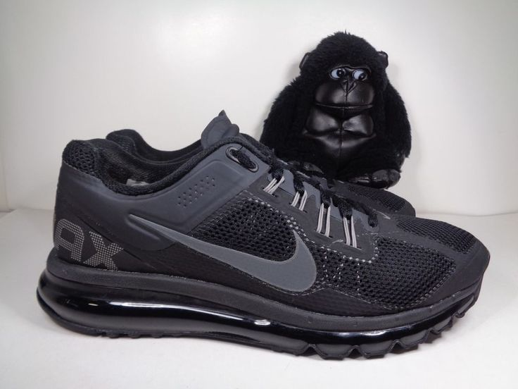Nike Mens Max Air Black Running Shoes Size 13 2010 Black Basketball