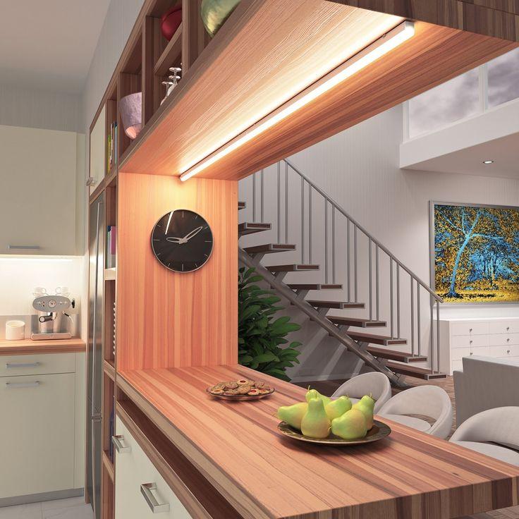Die besten 25+ Unterbauleuchten led küche Ideen auf Pinterest - Unterbauleuchten Küche Led