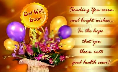 Sweet Get Well Sayings | Get Well Soon Sms
