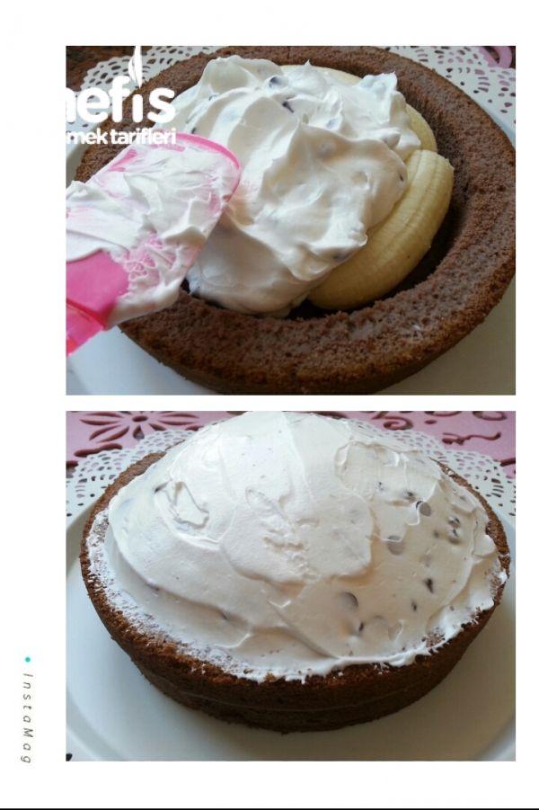 10 Dakikada Pişmeyen Köstebek Pasta