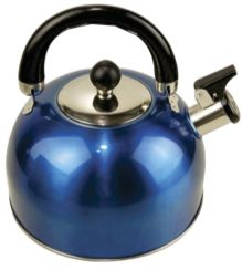 Leisure Quip Whistling Kettle 2,5L New Style in blue or green
