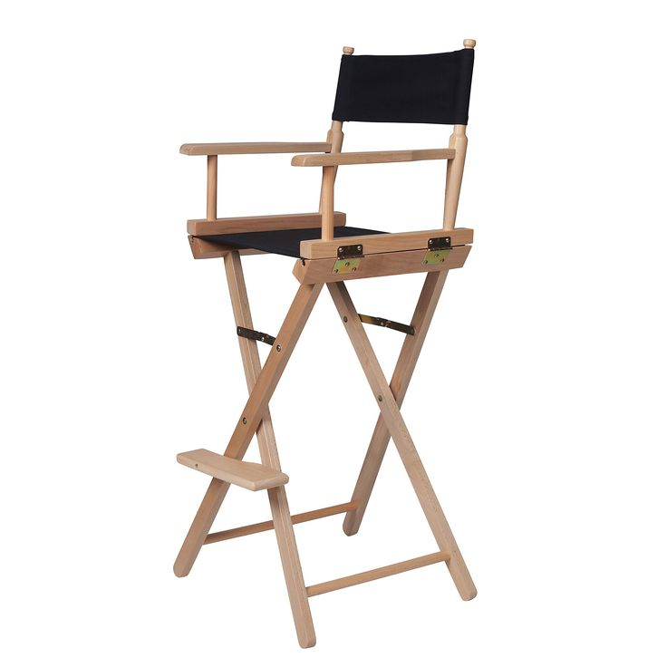 Inspirational Bar Height Directors Chair