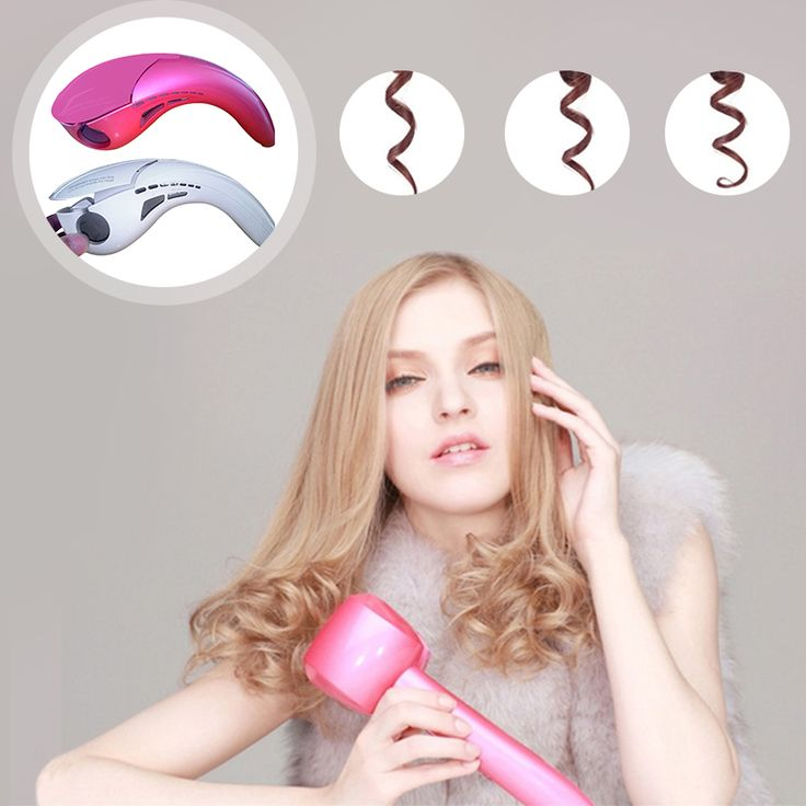 Automatic Hair Curl  Hair Styling Tools Hot LCD Pro Hair Curler Style HeatingMagic Hair Curlers Wand EU US DE AU Plug