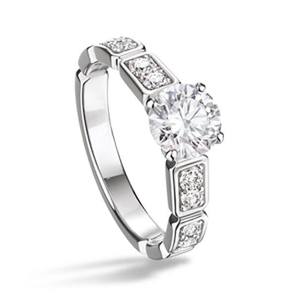 プルミエール プロメス エンゲージメントリング - CHANEL(シャネル)の婚約指輪(エンゲージメントリング)
