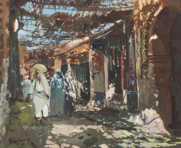 Plus de 1000 id es propos de voyages maroc sur pinterest cr ateurs de mod - Peintre majorelle oeuvres ...