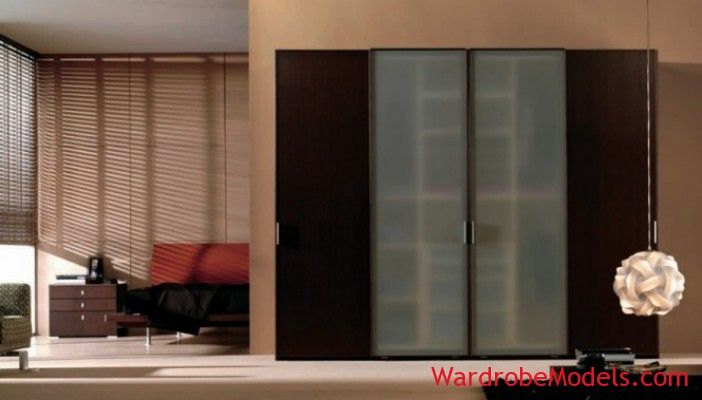 grey Decorative Bedroom Wardrobe Models