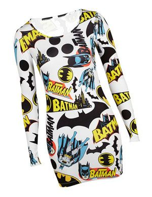Batman dress, I want!!