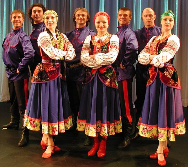 Traditional Russian Costumes For Children And Adults For
