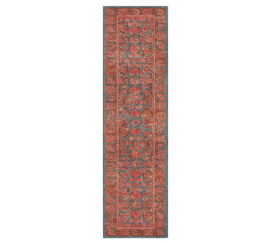 Multi Marguerite Printed Rug Patterned Rugs Pottery