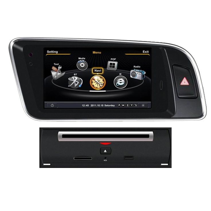 """Koolertron For 2008 2009 2010 2011 2012 2013 2014 2015 AUDI Q5 Car DVD GPS Navigation With dual-core/3Zone POP 3G/WIFI/20 Disc CDC/ DVD Recording/ Phonebook / Game with GPS Navigation Vehicle GPS with Maps (OEM Factory Style,Free Maps). This car multimedia system fits 2008-2015 AUDI Q5. With wince6.0 operating system. Built in GPS navigation, and you can listen to the music while in navigation function. 7""""800*480 Digital High Definition TFT LCD Touch screen. Original POP function. you can..."""