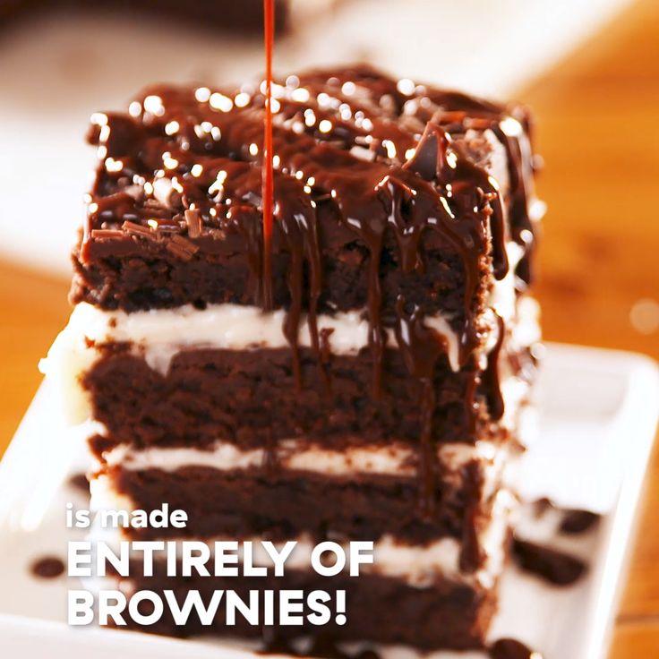 Brownie Lasagna  – Delish.com (Official)