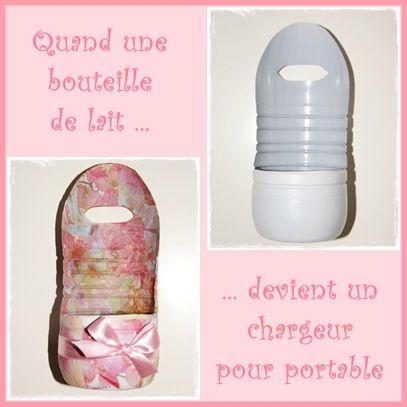 TUTO DIY : faire un chargeur pour portable avec une bouteille de lait