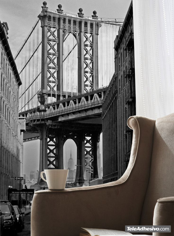 Fotomurales Puente de Manhattan