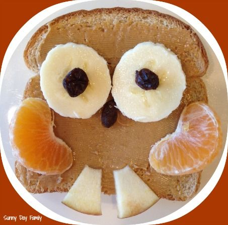 36 best snacks for kiddos images on pinterest desert recipes sunny day family owl toast quick easy healthy snack for kids forumfinder Gallery