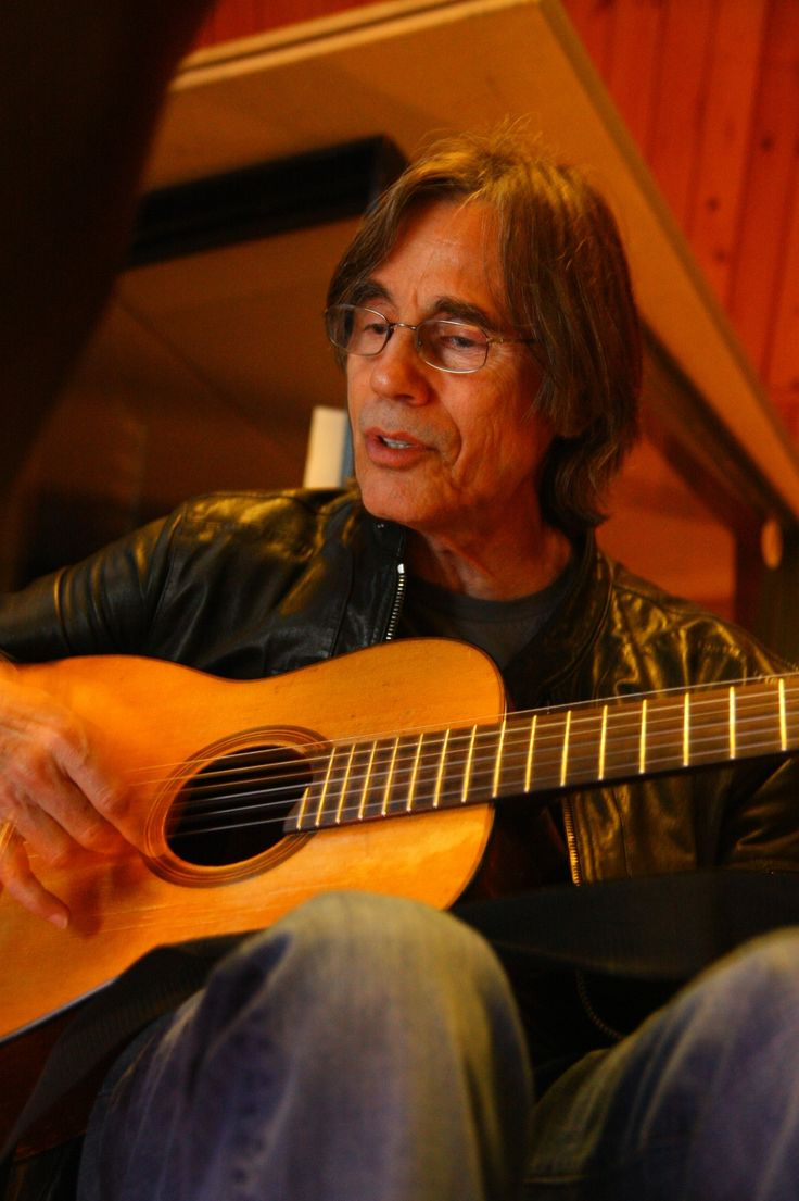... , Jackson Browne recording session | Full size is 2056 × 3088 pixels