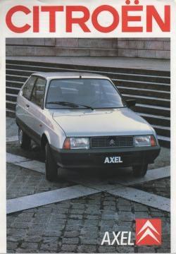 LN/LNA/Axel/Visa / Citroën / Mijn brochures C | Autobrochures-a-o.jouwweb.nl