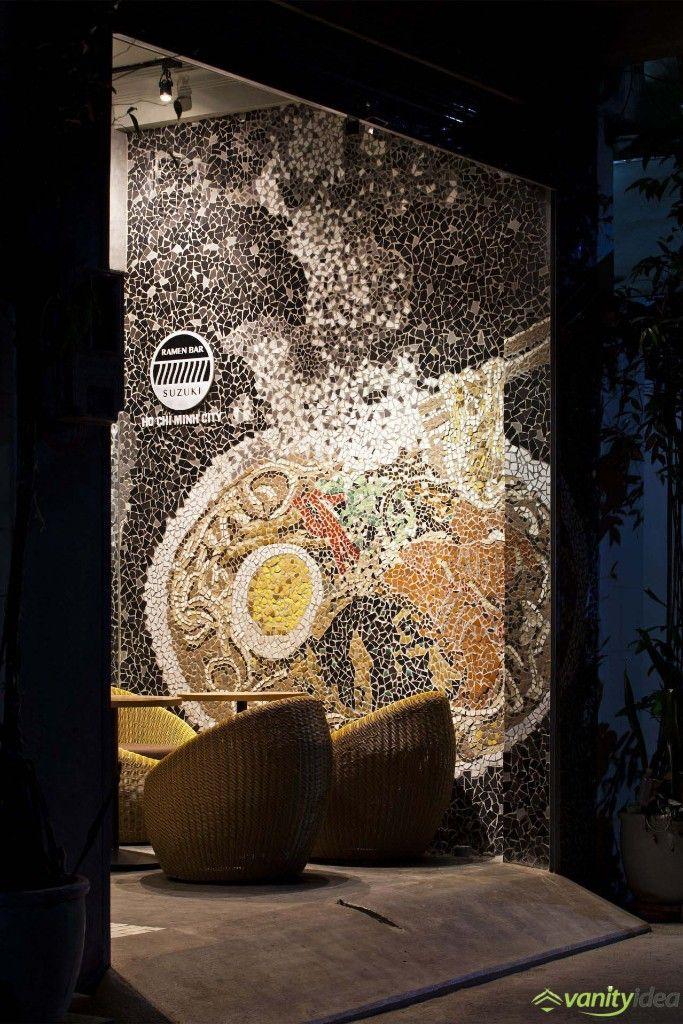 magnificent mosaic wall