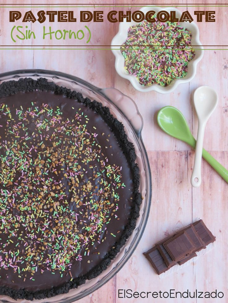 PASTEL/CAKE de Chocolate (SIN HORNO)