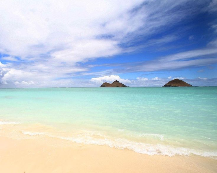Kailua Beach - Oahu: some of the most beautiful water I've ever seen.