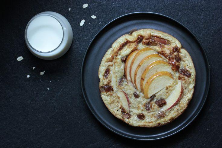Mach dein Omelette mal etwas anders - als süßes Frühstück, das dich mit Eiweiß und Energie für den Tag versorgt. Zum Abnehmen oder für den Muskelaufbau.