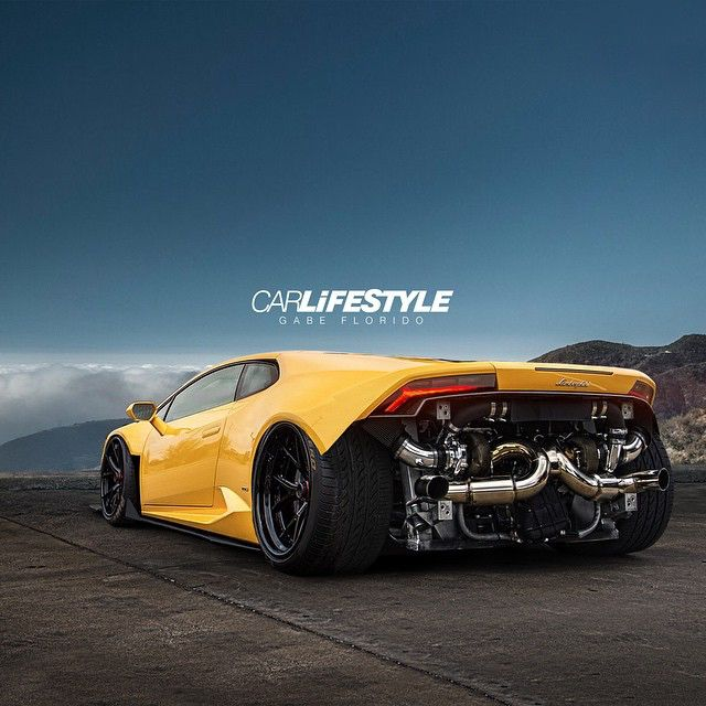 Twin Turbo Huracan • Render by @gabe_carlifestyle  #Carlifestyle #TwinTurbo #Huracan @hre_wheels Center lock wheels