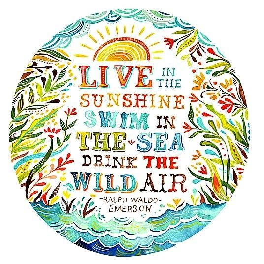 Live in the Sunshine - Tiny Buddha
