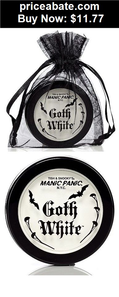 Beauty-Makeup: Manic Panic Goth White Cream Powder Foundation Makeup - BUY IT NOW ONLY $11.77