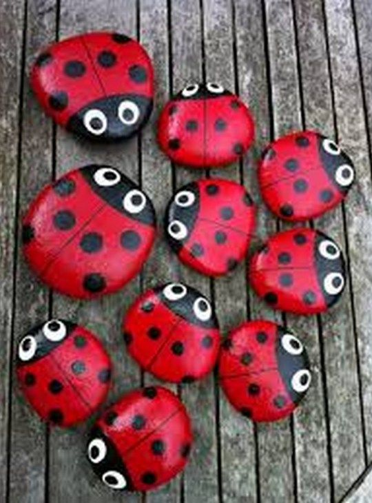 99 DIY Ideas Of Painted Rocks With Inspirational Picture And Words (36)