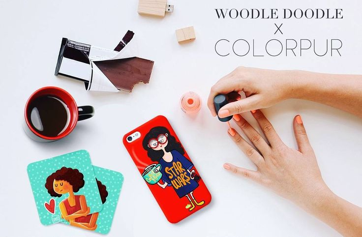 Woodle Doodle X Colorpur Buy all new products at www.colorpur.com  . . . . . . . . #art #artist #doodle #doodleindia #woodledoodledesigns #Graphic #graphicdesign #mobilecovers #mobilecases #phonecase #adobe #photoshop #illustrator #handmade #bengaluru #colorpur #startup #starwars #coffee #coasterset #apple #iPhone #flatlay #flatlays #bloggerlove #blogger #bangalorebloggers #mumbaiblogger