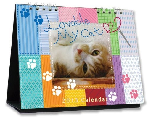 Lovable My Cat Calendar・(ねこカレンダー)卓上タイプ(2013年版) ありたちかこ, http://www.amazon.co.jp/gp/product/4903974685/ref=cm_sw_r_pi_alp_tYWMqb1DV2RHE