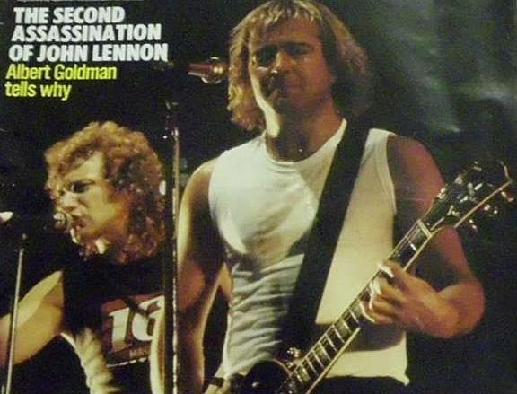 Lou Gramm and Mick Jones, Foreigner group
