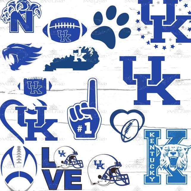 Kentucky Wildcats Kentucky Football By Enchantedsvg On Zibbet In 2020 Kentucky Football Basketball Wallpaper Kentucky Wildcats